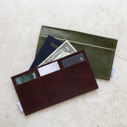 card holder trio | double sided