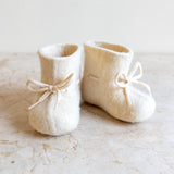 glerups wool baby shoe | off-white