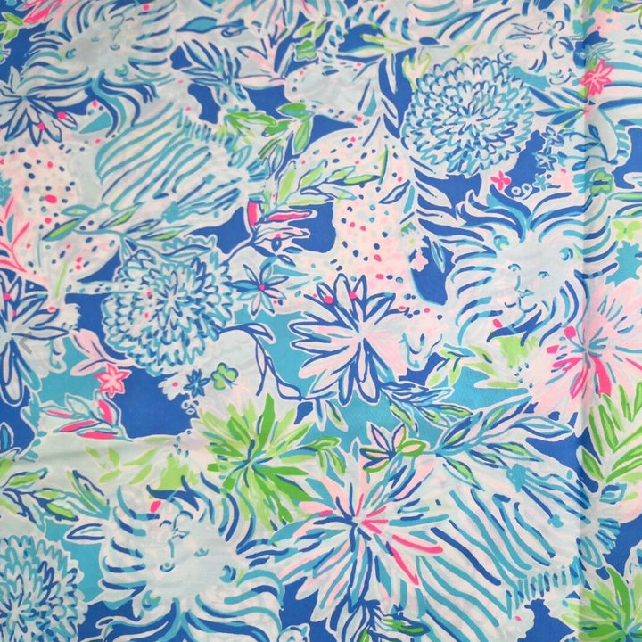 Lilly Pulitzer | lion around | swatch