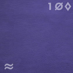 swatch leather sample purple lupine