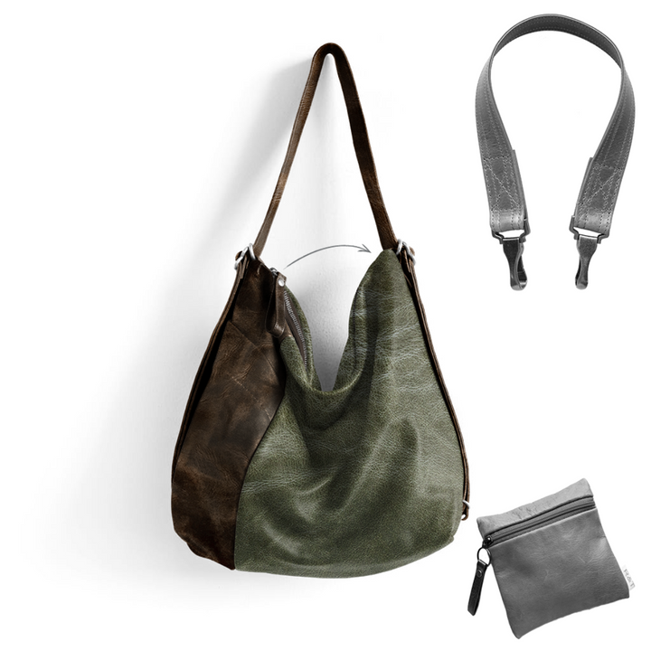 Custom Side Pocket Hobo Pack - Customer's Product with price 386.00