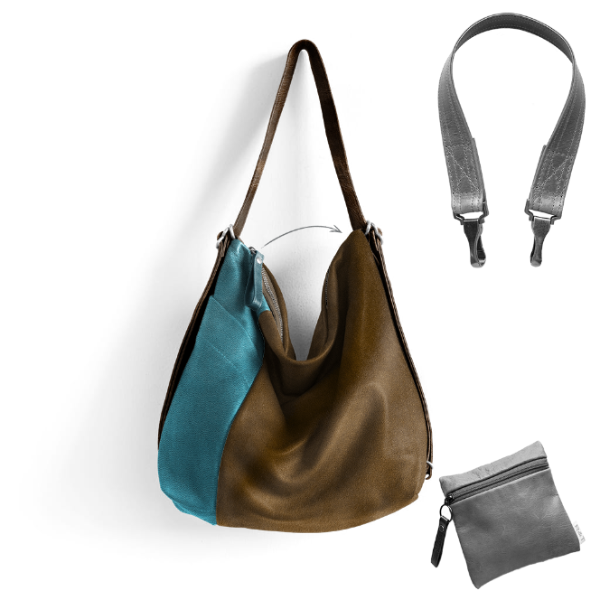 Custom Side Pocket Hobo Pack - Customer's Product with price 491.00