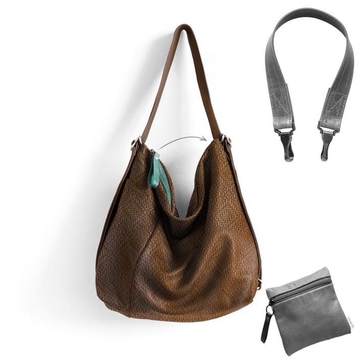 Custom Side Pocket Hobo Pack - Customer's Product with price 452.00