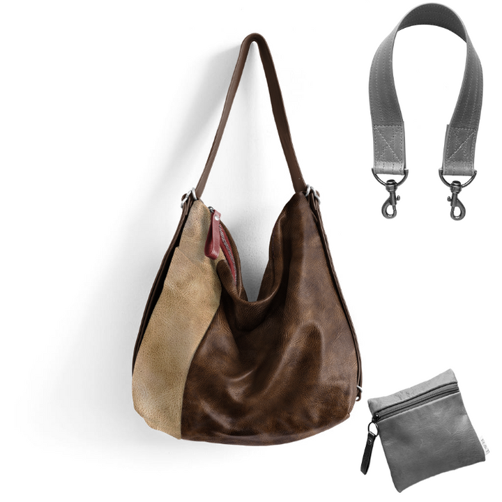 Custom Side Pocket Hobo Pack - Customer's Product with price 466.00
