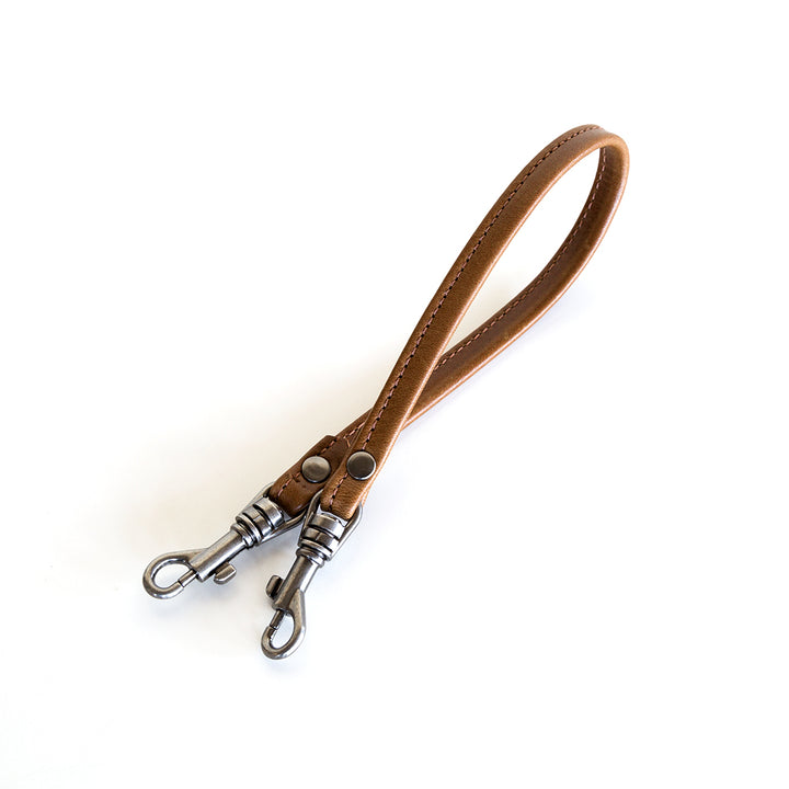 leather fob key clip chain corded
