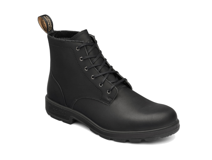 blundstone lace up |  black