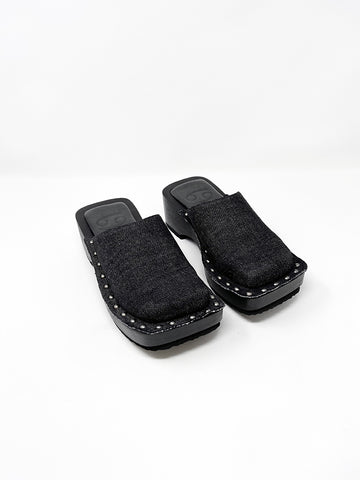 69 Box Clog, Black