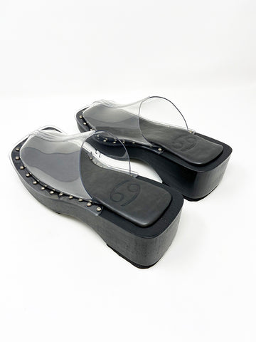 69 Box Clog, Clear