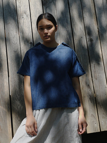 A--Company Woven Outline Tee