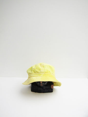 Audrey Louise Reynolds Organic Cotton Bucket Hat, Yellow