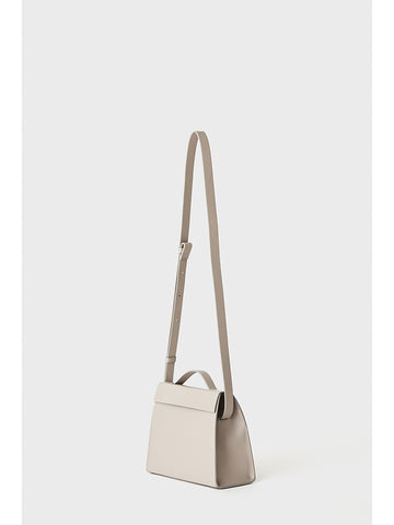 Aesther Ekme Mini Triangle Bag, Concrete