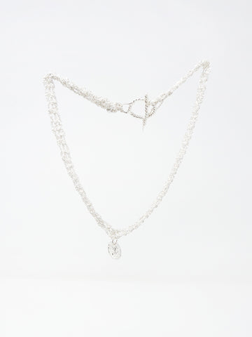 Arielle de Pinto Single Currency Necklace