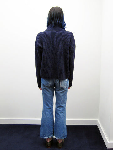 Atelier E.B. Lilly Jumper, Navy - Stand Up Comedy
