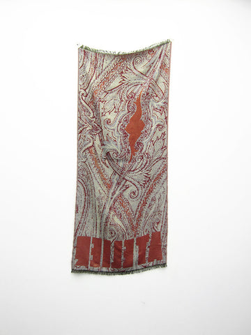 Atelier E.B. Paisley Scarf - Stand Up Comedy