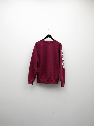 Atelier E.B. Trio Sweatshirt, Burgundy - Stand Up Comedy