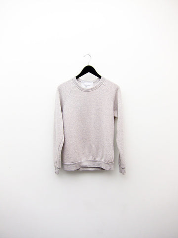 Audrey Louise Reynolds Organic Eco-Fleece Sweatshirt, Heathered Grey/Pink