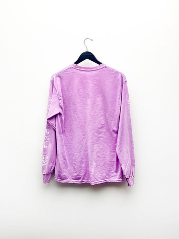 Audrey Louise Reynolds Envirometal Long Sleeve Shirt, Purple Nerpal (Organic)