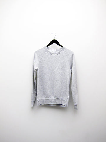Audrey Louise Reynolds Organic Eco-Fleece Sweatshirt, Heathered Grey