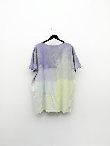Audrey Louise Reynolds Oversized T-Shirt, Purple/Yellow Fade
