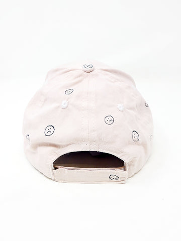 Audrey Louise Reynolds Sad Baseball Hat, Pale Worm