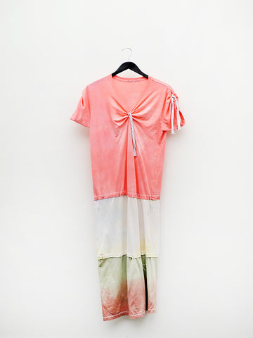 Audrey Louise Reynolds Long Dress, Tied and Tie Dyed