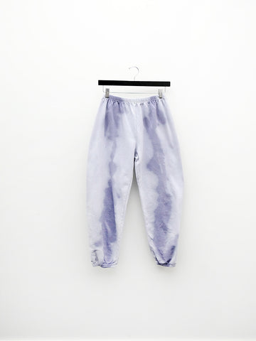 Audrey Louise Reynolds Organic Cotton Sweatpants, Uneven Blue/Purple