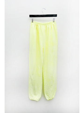 Audrey Louise Reynolds Organic Cotton Sweatpants, Limoncello Yellow - Stand Up Comedy