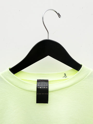 Audrey Louise Reynolds Organic Cotton Sweatshirt, Neon Green