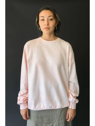 Audrey Louise Reynolds Organic Cotton Sweatshirt, Pink - Stand Up Comedy