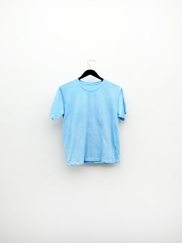 Audrey Louise Reynolds T-Shirt, Bright Blue