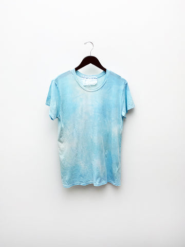 Audrey Louise Reynolds T-Shirt, Mineral Blue