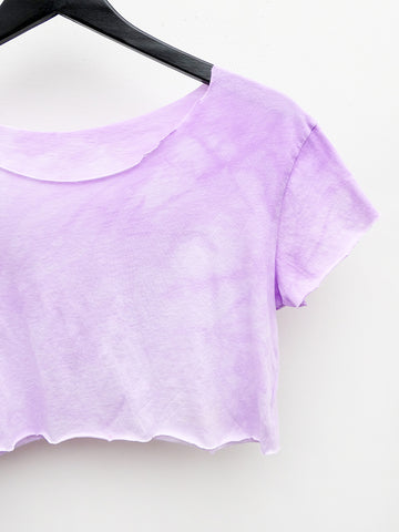 Audrey Louise Reynolds Crop Top, Lavender