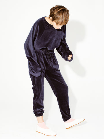 Baserange AL Sweatpants, Midnight Blue