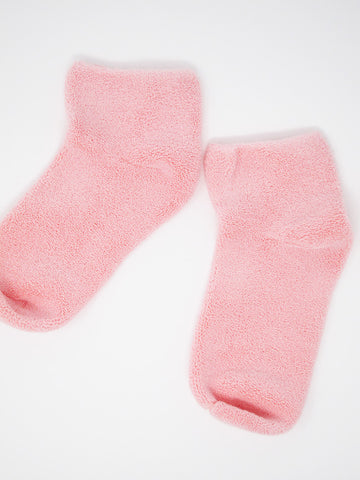 Baserange Buckle Ankle Sock, Pink - Stand Up Comedy