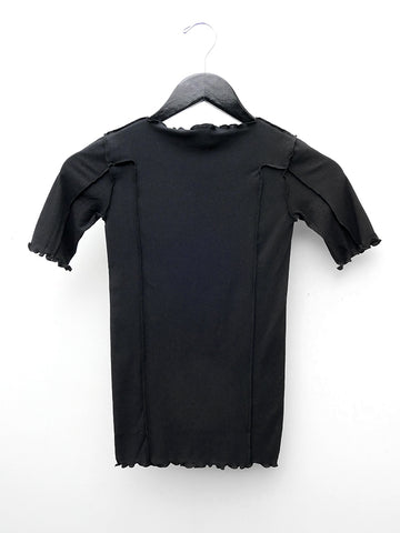 Baserange Omato 3/4 Sleeve Top, Black