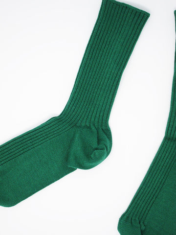 Baserange Over Ankle Sock, Galea Green