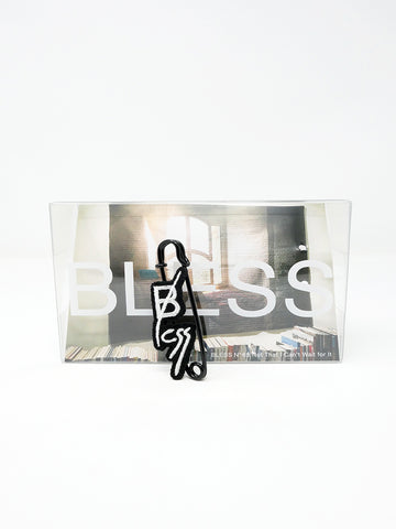 Bless Be Less Pin, Black