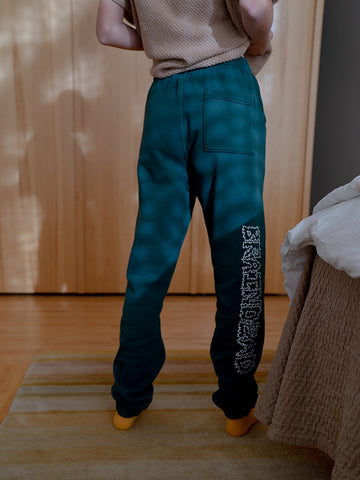 Brain Dead Dreams Sweatpants, Mallard Green
