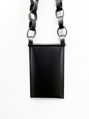 Building Block iPhone Sling, Large, Black Chain