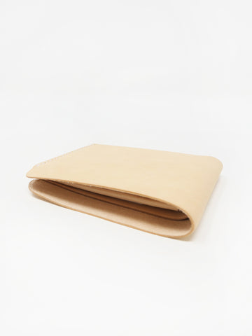 Building Block Simple Wallet, Veg Tan