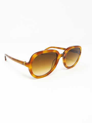 Chimi Aviator Amber Sunglasses