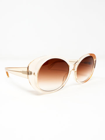 Chimi Round Fawn Sunglasses
