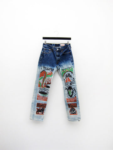 Forbidden Zone Jeans, 29