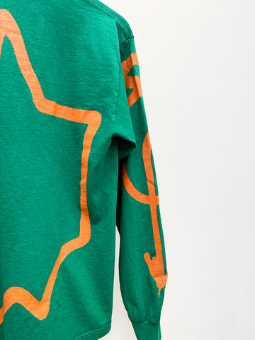 Come Tees Long Sleeve Logo Shirt, Green