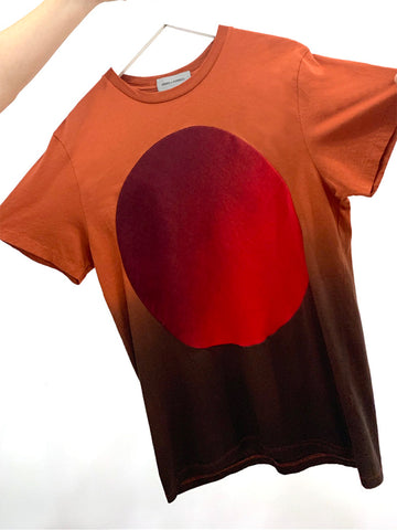 Correll Correll Sun and Moon T-Shirt, Brick