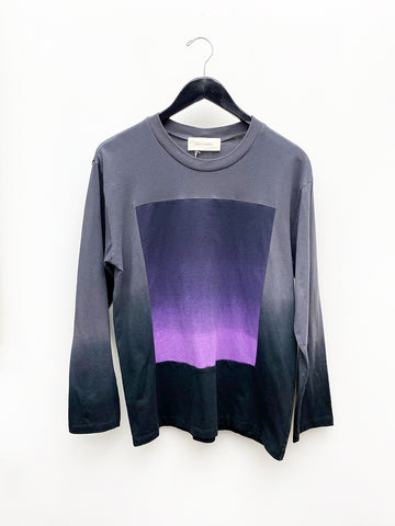 Correll Correll Sun and Moon Square Longsleeve Shirt, Purple Slate