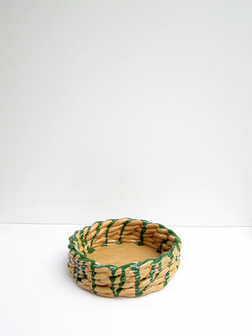 CristaSeya Anaphi Ceramic Bowl, Anaphi Clay - Stand Up Comedy