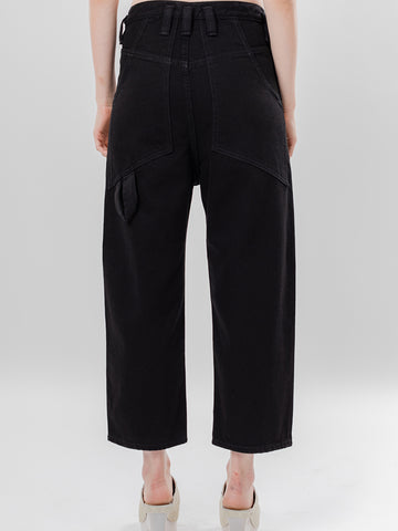 Eckhaus Latta Baggy Jean, Almost Black