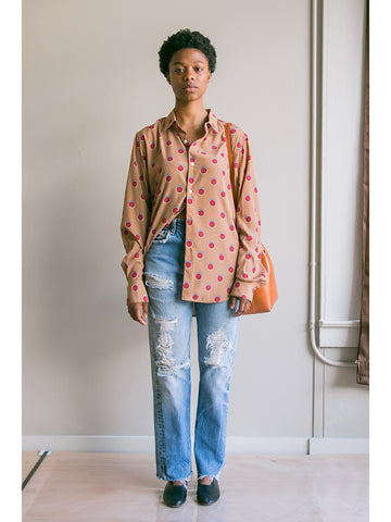 Eckhaus Latta Button Down, Mature Dot - Stand Up Comedy