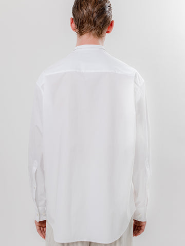 Eckhaus Latta Dog Ear Button Down, Pencil Stripe